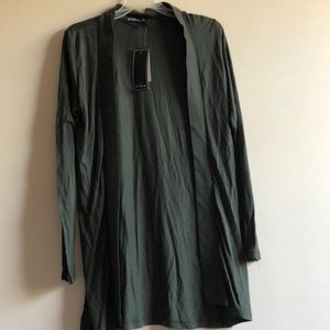 NWT Cotton On Olive Green Cardigan
